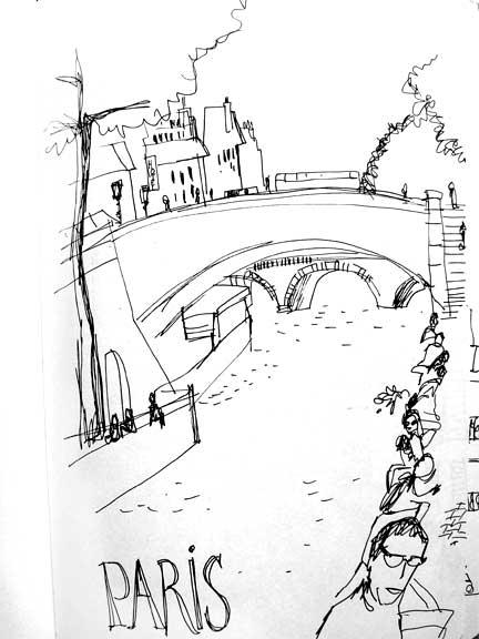 Paris sketches (1/5)