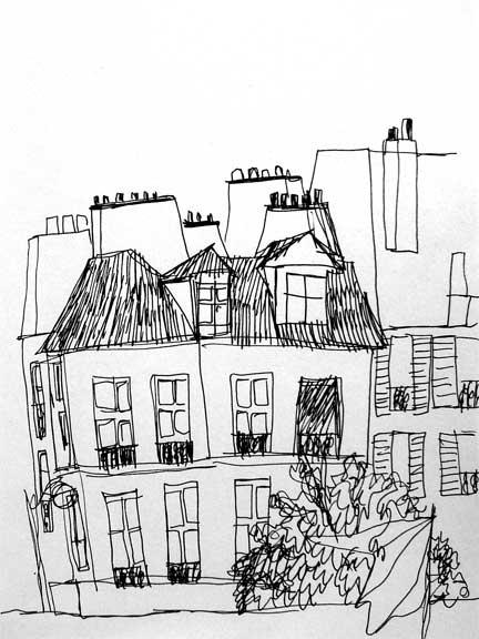 Paris sketches (2/5)