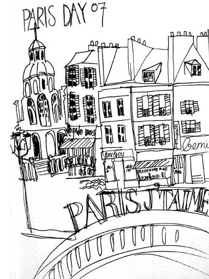 Paris sketches (3/5)